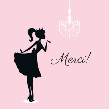 Merci! {pistache and rose}